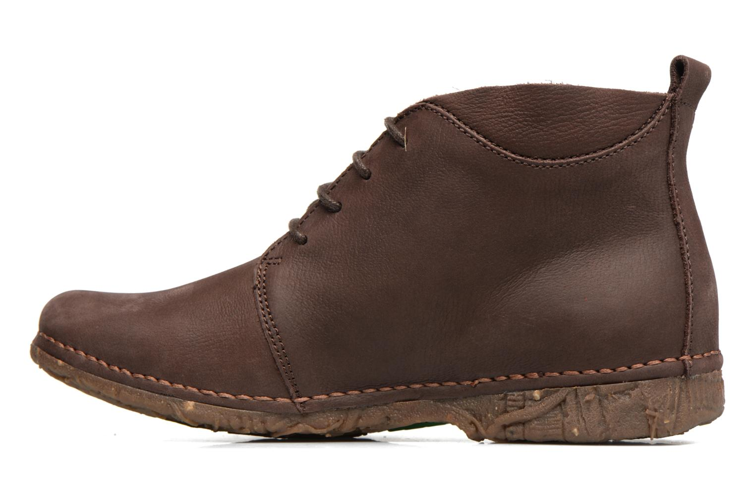 Lace-up shoes El Naturalista Ankor N974 Brown front view