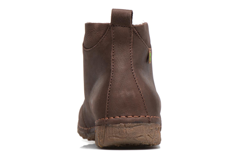 Chaussures à lacets El Naturalista Ankor N974 Marron vue droite