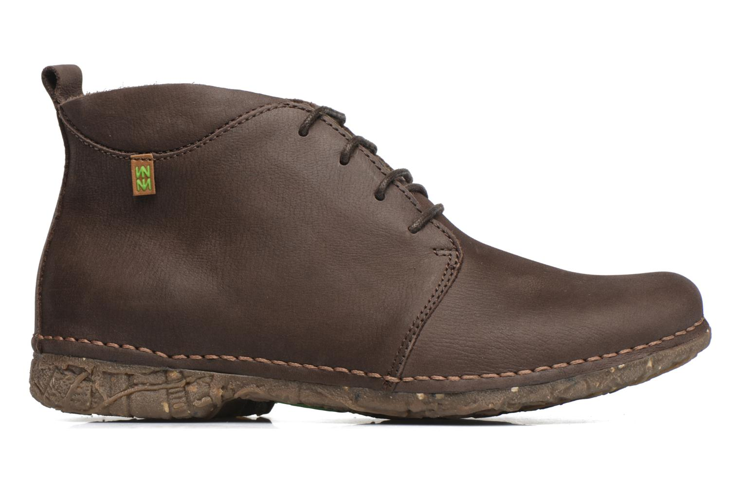 Lace-up shoes El Naturalista Ankor N974 Brown back view