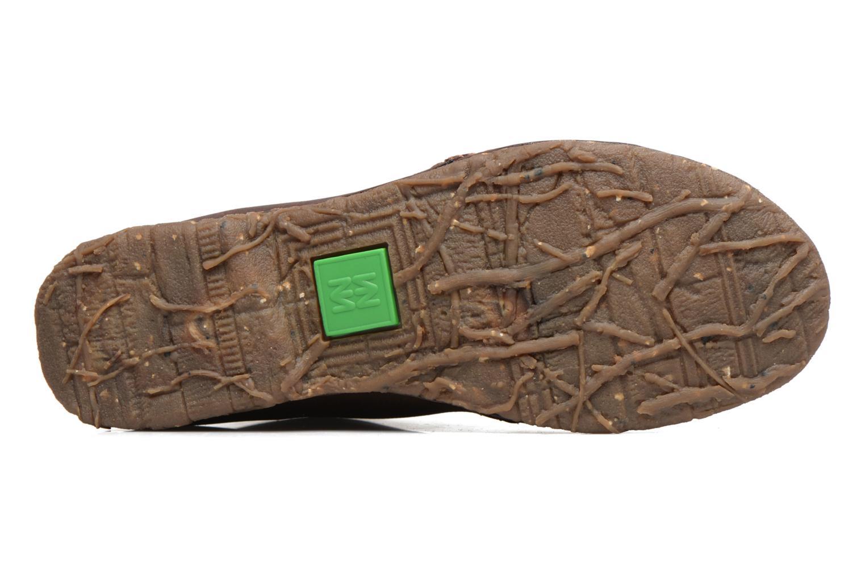 Chaussures à lacets El Naturalista Ankor N974 Marron vue haut