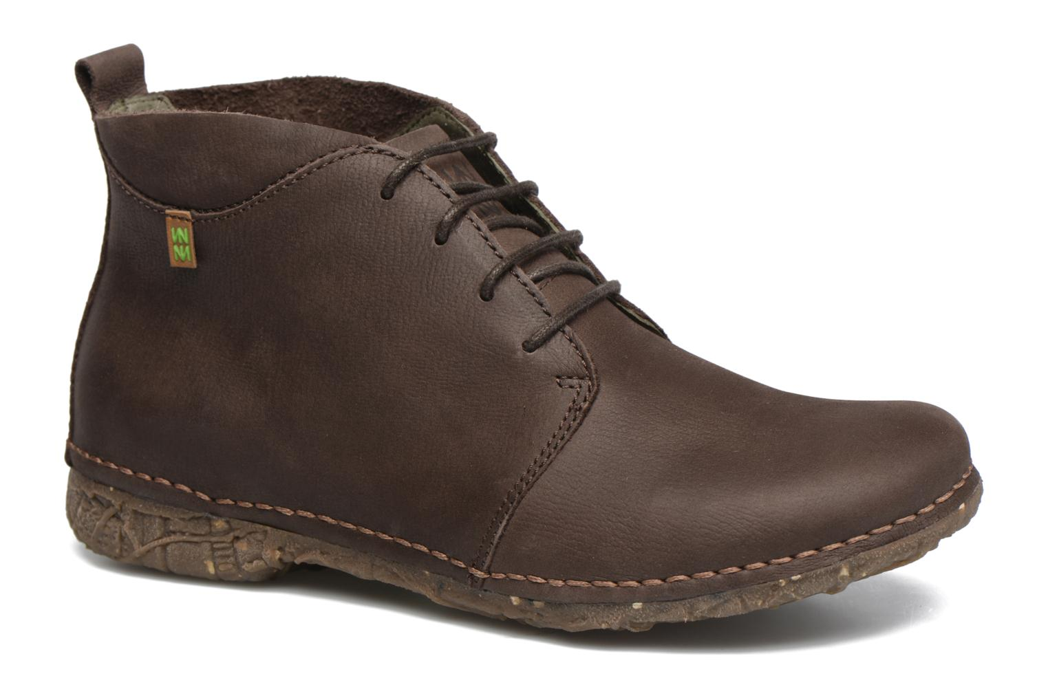 Lace-up shoes El Naturalista Ankor N974 Brown detailed view/ Pair view