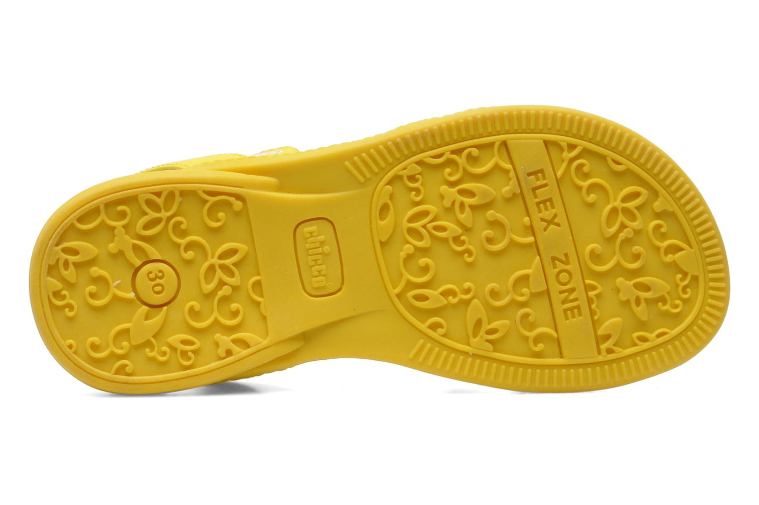 Sandals Chicco Cristine Yellow view from above