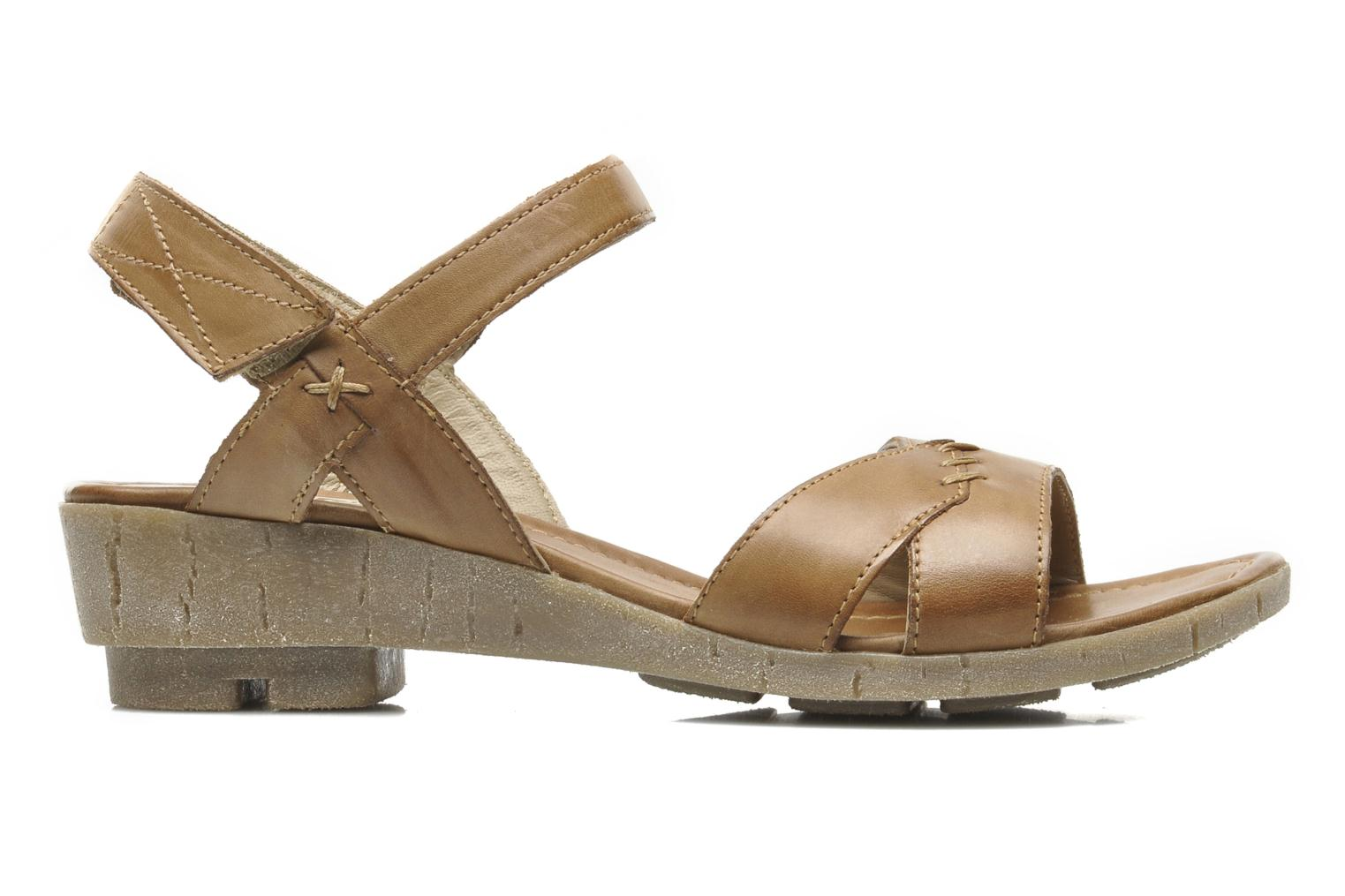 Sandals Khrio Roso N Brown back view