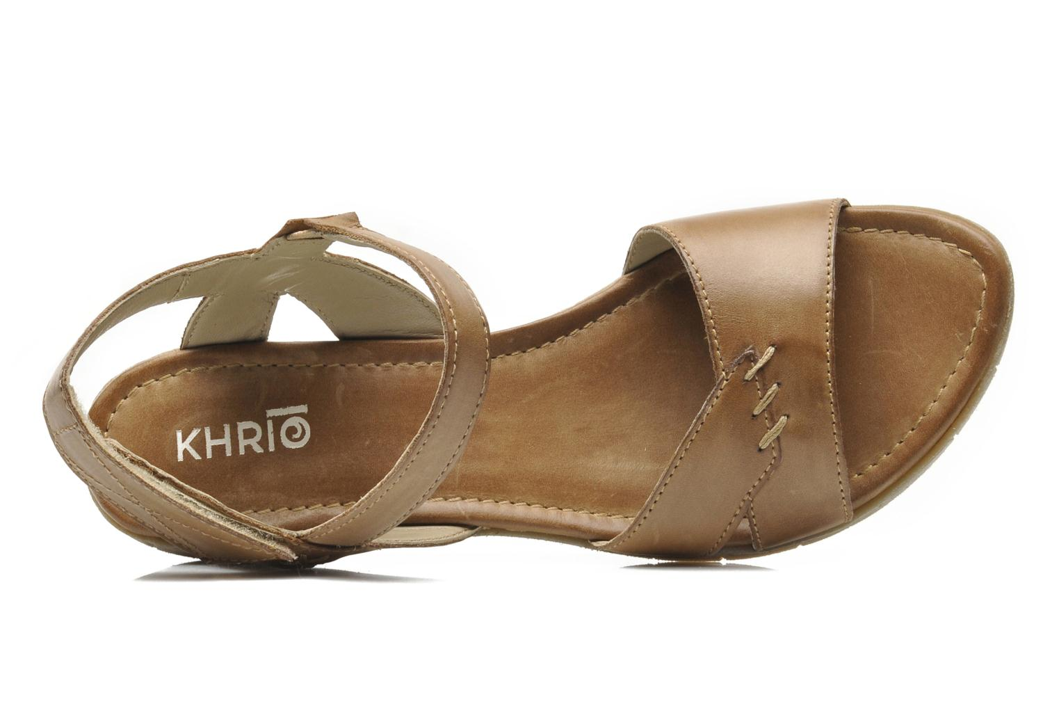 Sandals Khrio Roso N Brown view from the left