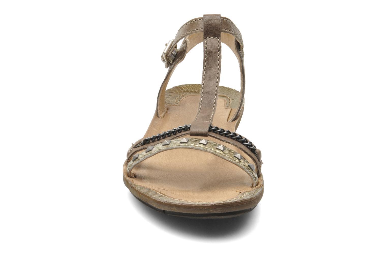Sandalen Khrio Kim N braun schuhe getragen