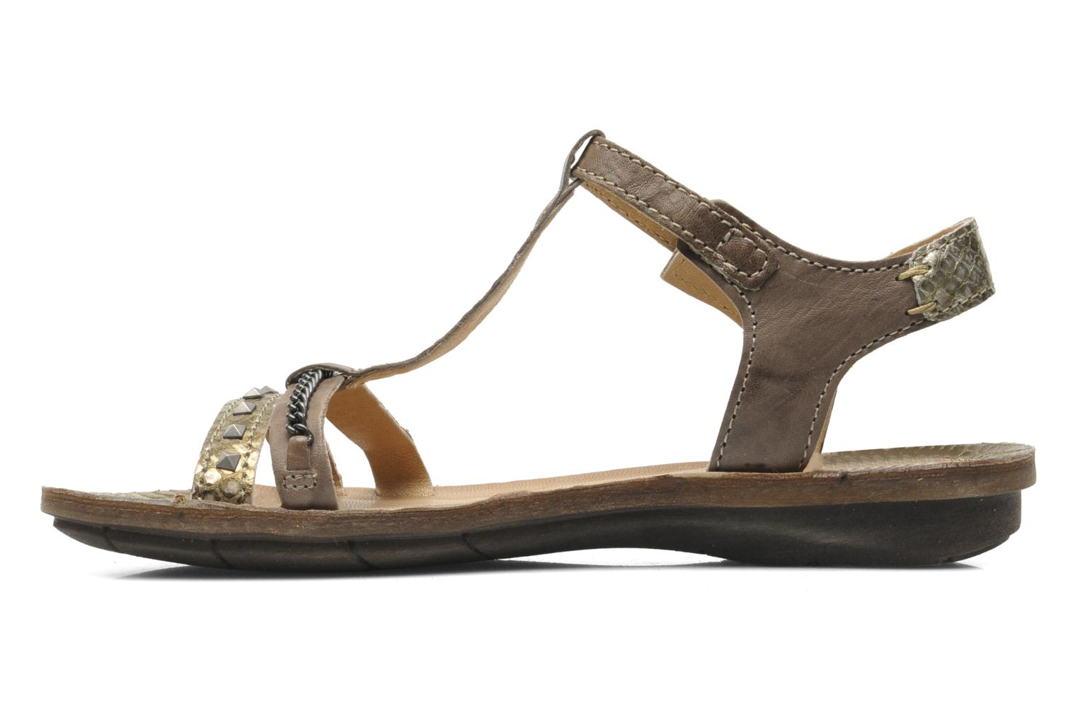 Sandals Khrio Kim N Brown front view