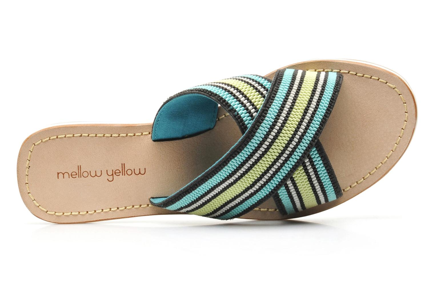 Mules & clogs Mellow Yellow Satine Multicolor view from the left