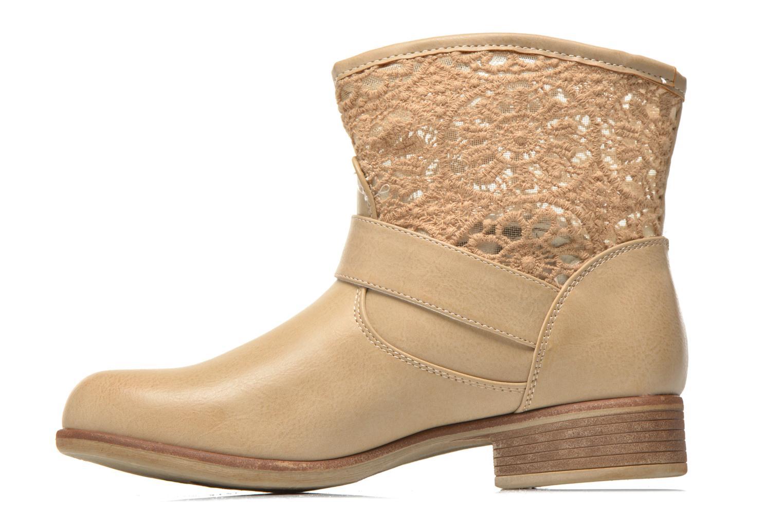 Bottines et boots I Love Shoes Thivu Beige vue face
