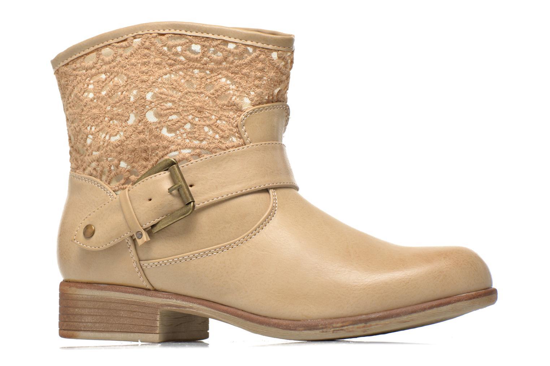 Bottines et boots I Love Shoes Thivu Beige vue derrière