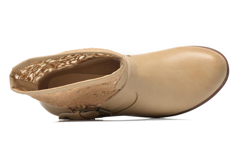 Bottines et boots I Love Shoes Thivu Beige vue gauche