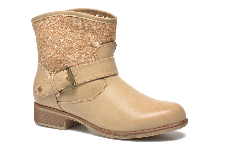 Bottines et boots I Love Shoes Thivu Beige vue détail/paire