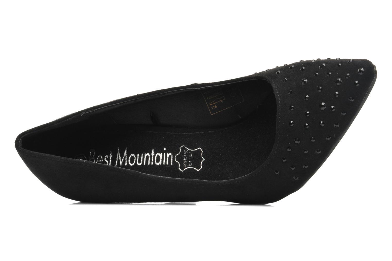 Zapatos de tacón Best Mountain Crodil Negro vista lateral izquierda