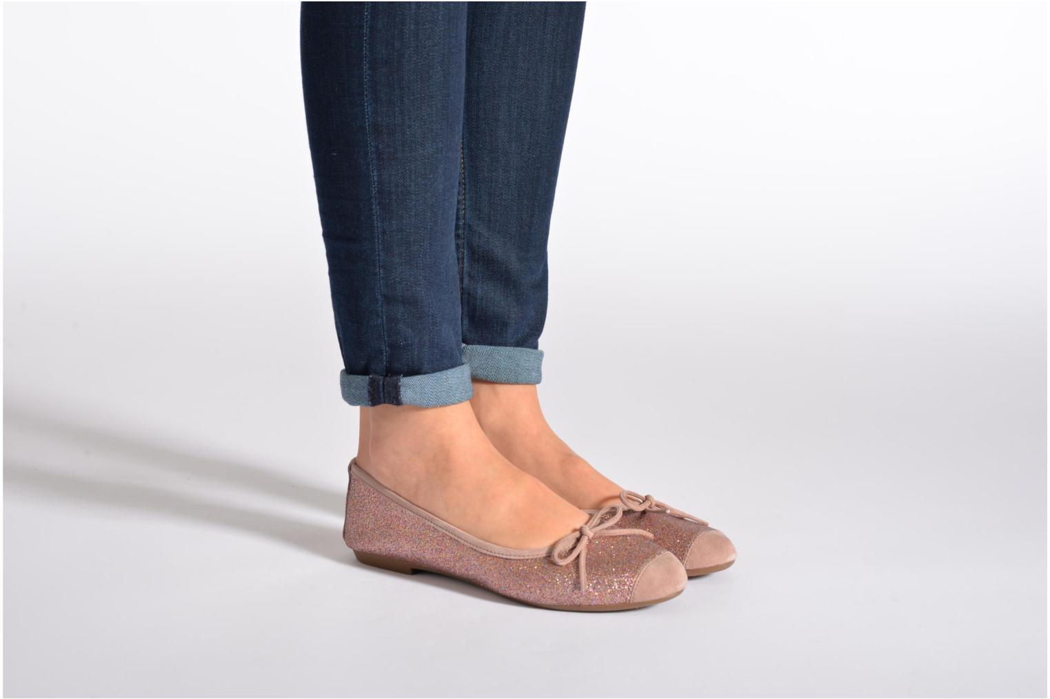 Ballet pumps Coco et abricot Baptiste Blue view from underneath / model view
