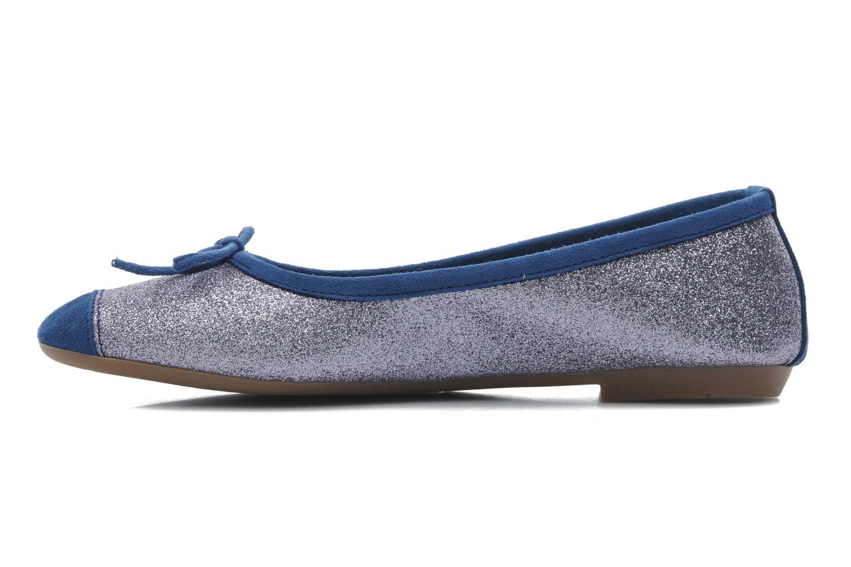Ballet pumps Coco et abricot Baptiste Blue front view