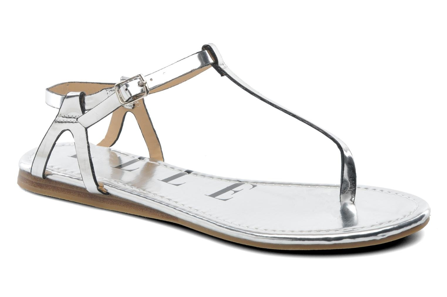 Sandals Elle Marly Silver detailed view/ Pair view