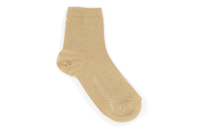 Strømper og tights My Lovely Socks Jo Guld og bronze detaljeret billede af skoene