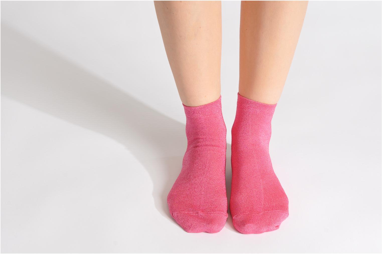 Medias y Calcetines My Lovely Socks Jo Rosa vista de abajo
