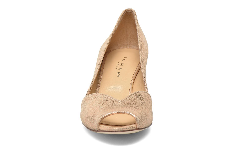 High heels Jonak AMUT Bronze and Gold model view