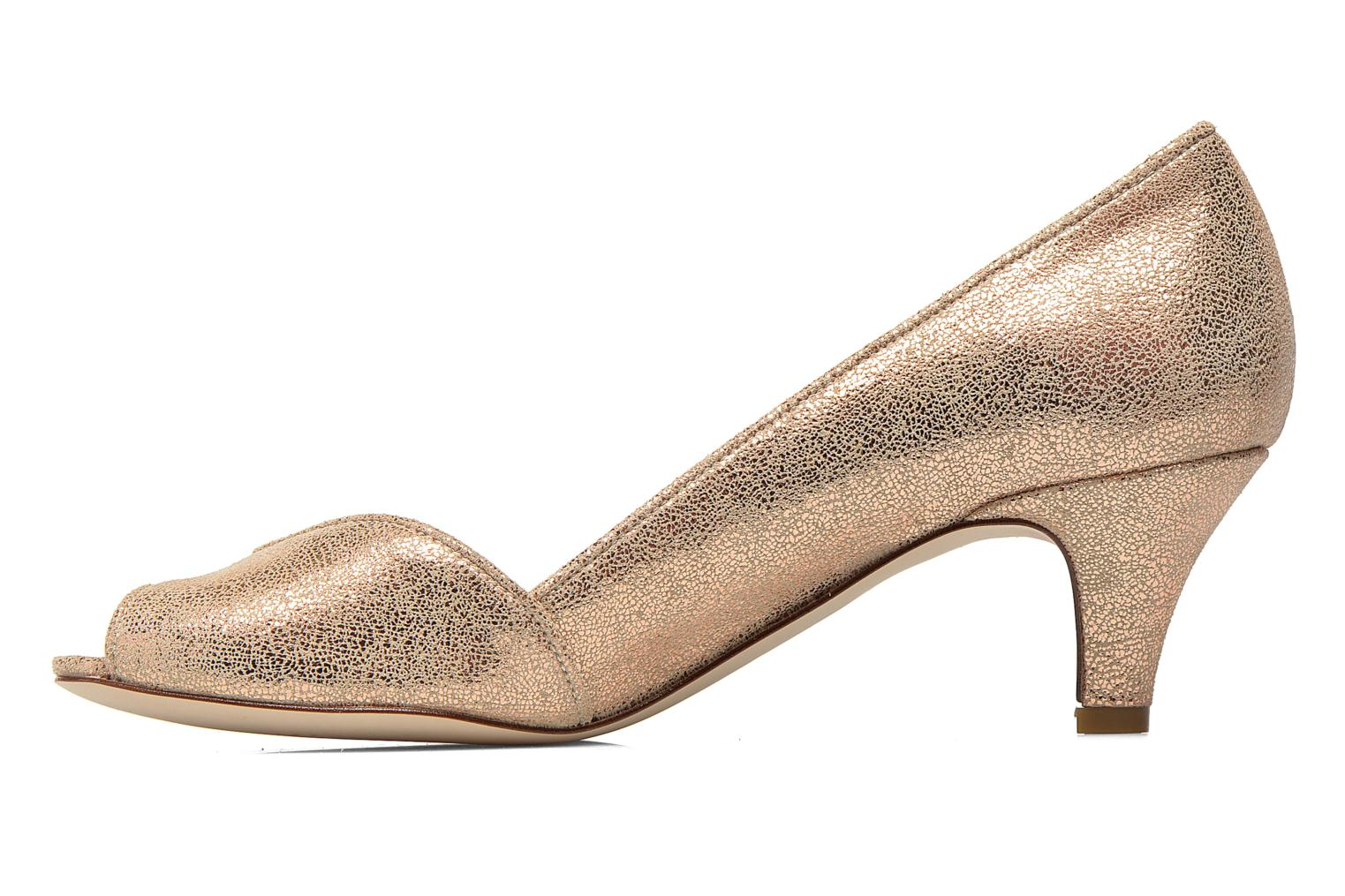 High heels Jonak AMUT Bronze and Gold front view