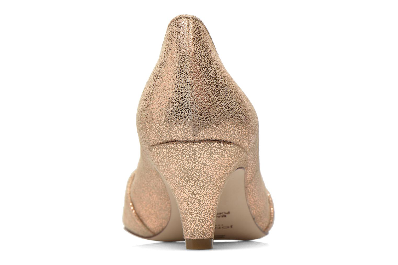 Zapatos de tacón Jonak AMUT Oro y bronce vista lateral derecha