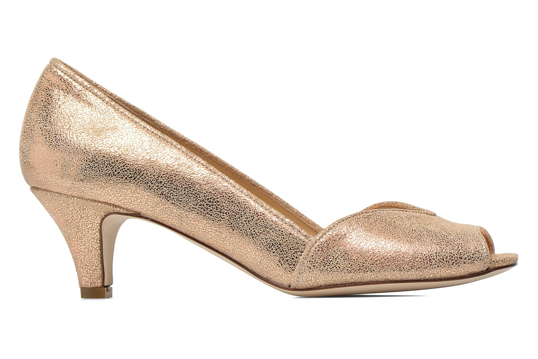 High heels Jonak AMUT Bronze and Gold back view