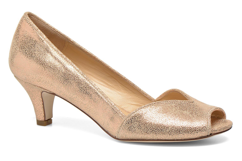 Zapatos de tacón Jonak AMUT Oro y bronce vista de detalle / par