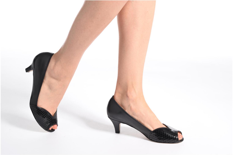 High heels Jonak AMUT Black view from underneath / model view