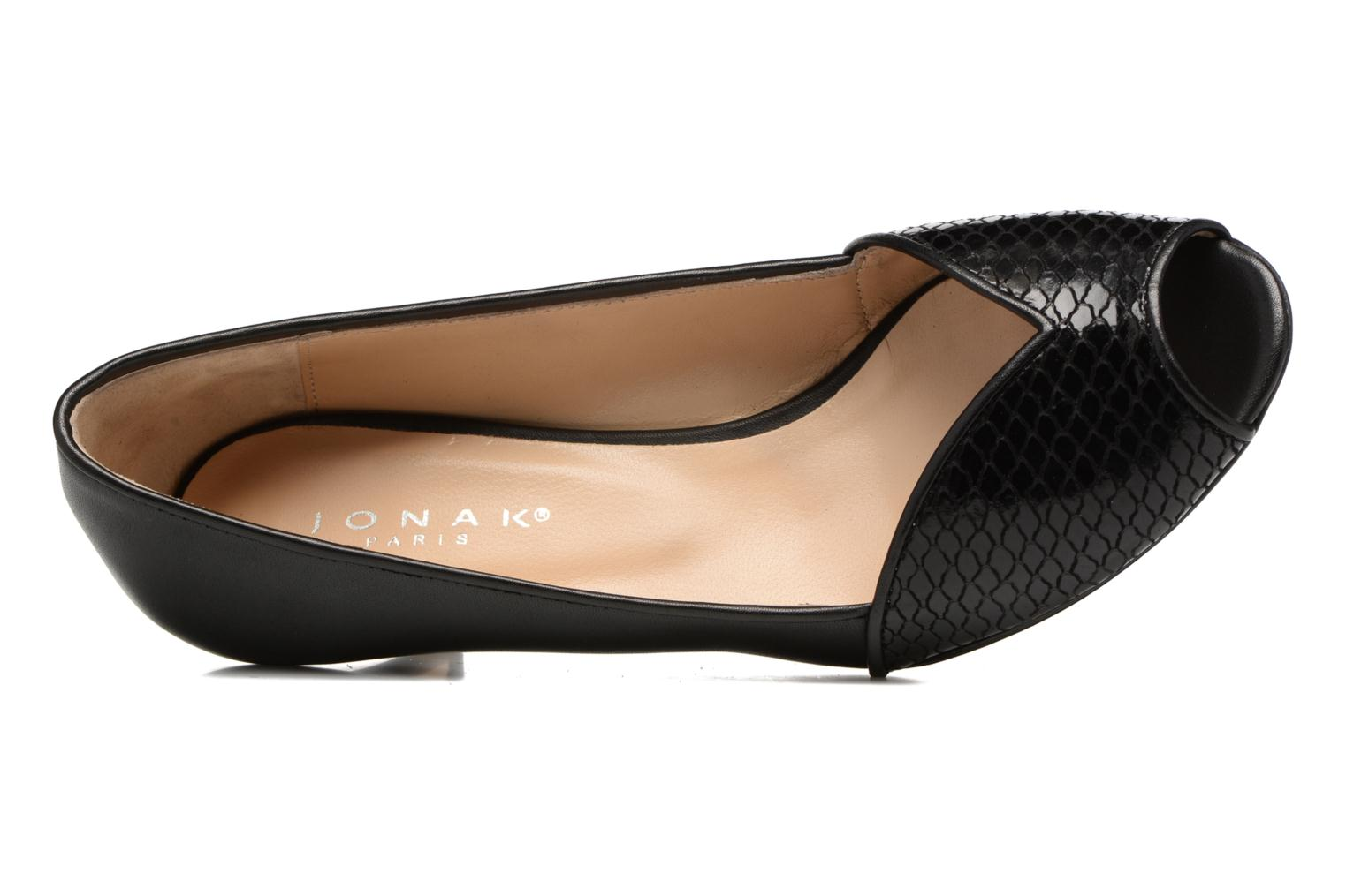 High heels Jonak AMUT Black view from the left
