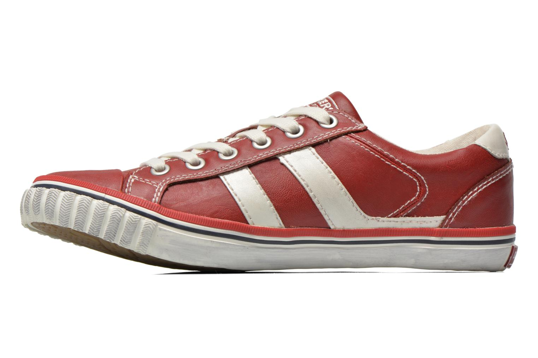 Sneaker Dockers Suit rot ansicht von vorne
