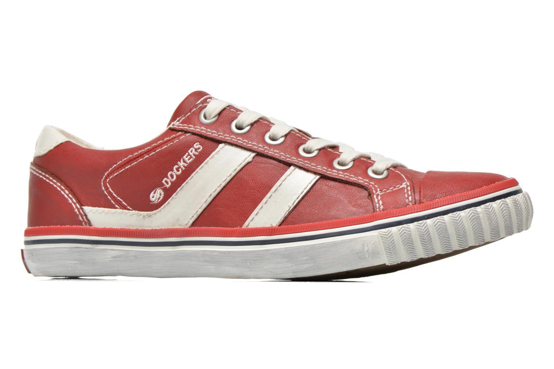 Sneakers Dockers Suit Rood achterkant