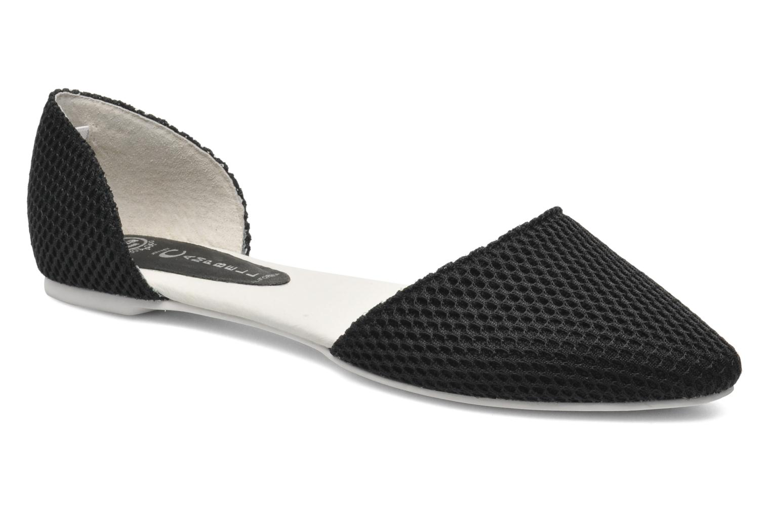 Ballet pumps Jeffrey Campbell In Love Black detailed view/ Pair view