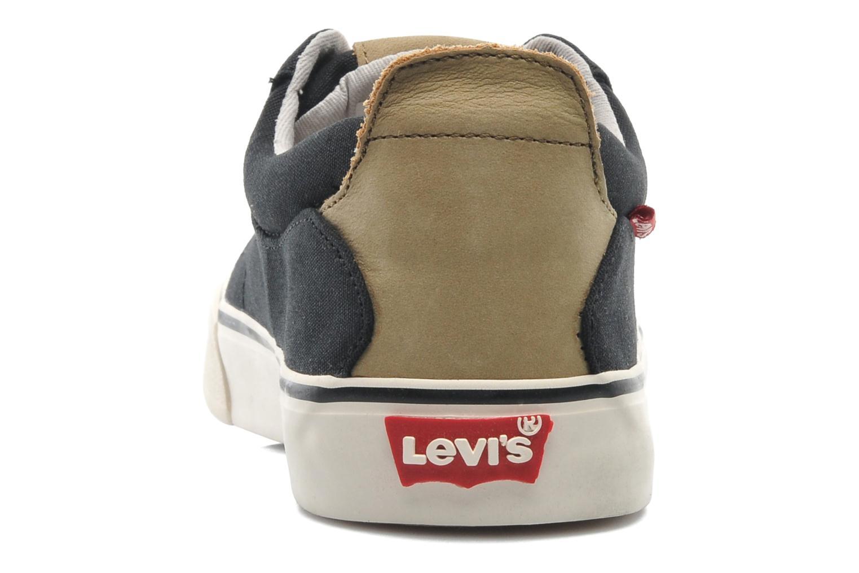 Sneaker Levi's Justin Low Lace schwarz ansicht von rechts