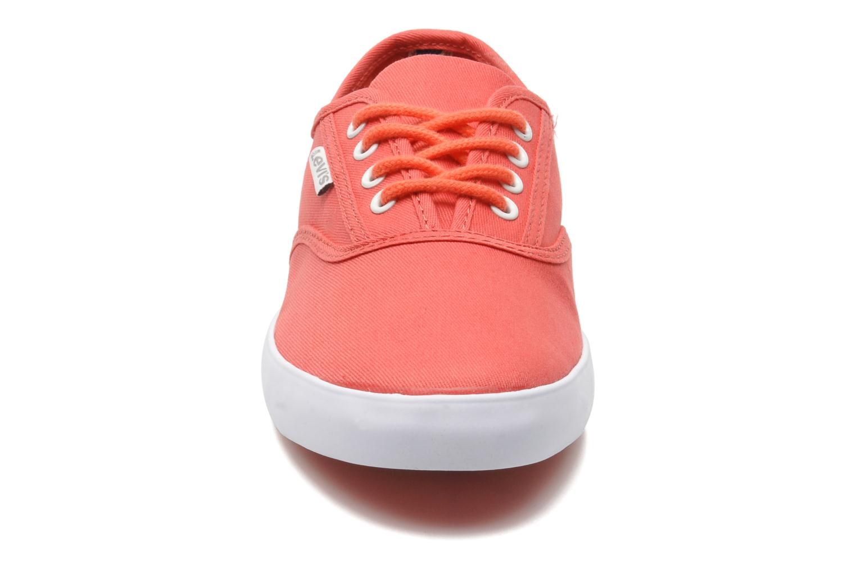 Sneaker Levi's Palmdale Lace Up rosa schuhe getragen