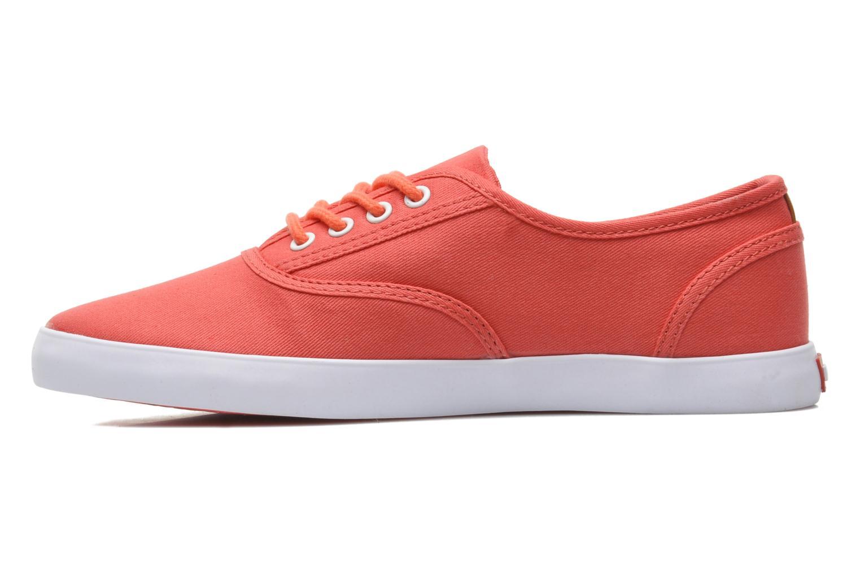 Sneaker Levi's Palmdale Lace Up rosa ansicht von vorne