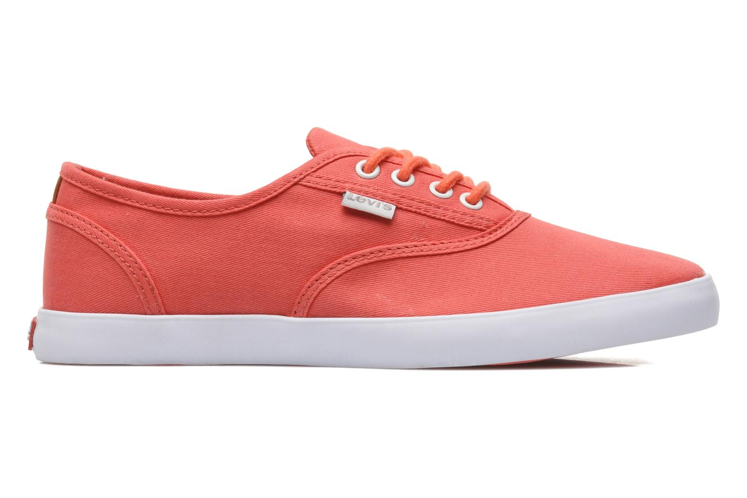Sneakers Levi's Palmdale Lace Up Roze achterkant