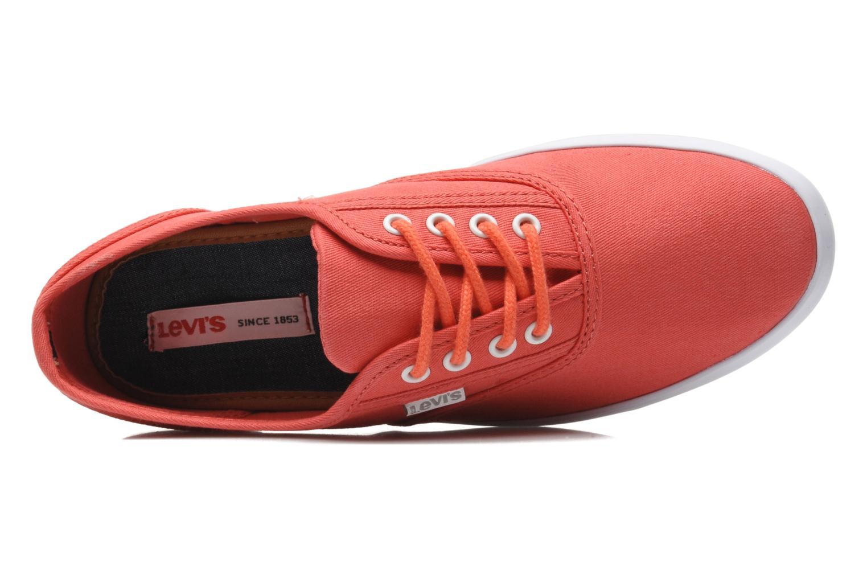 Sneaker Levi's Palmdale Lace Up rosa ansicht von links