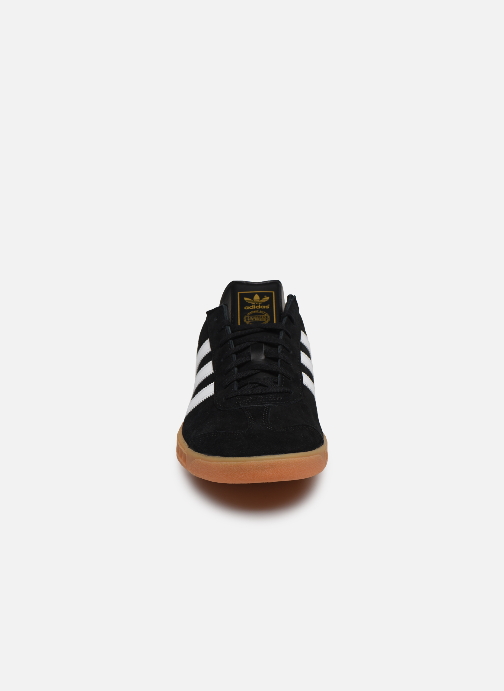 Sneakers Adidas Originals Hamburg Nero modello indossato