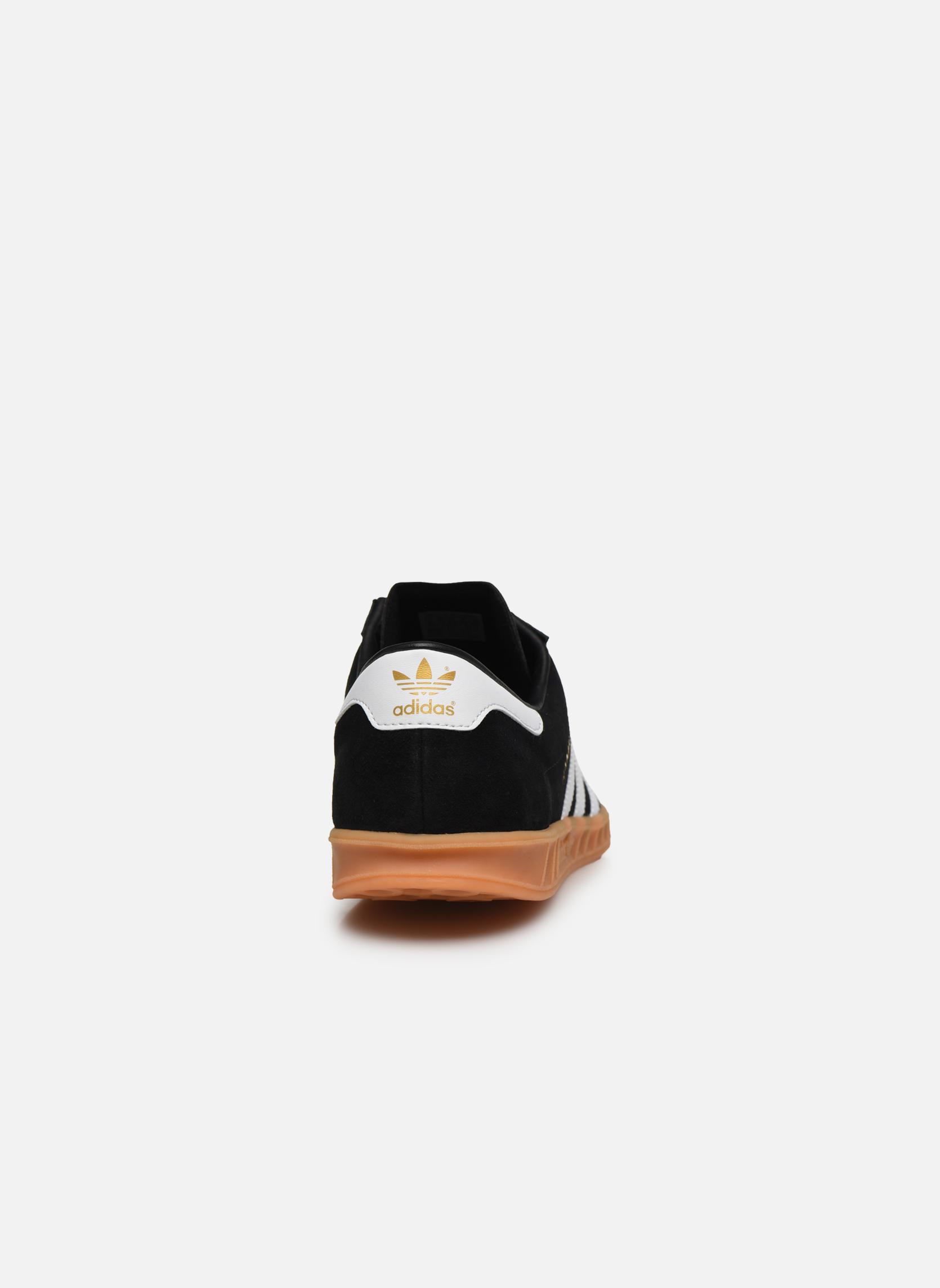 Sneaker Adidas Originals Hamburg schwarz ansicht von rechts
