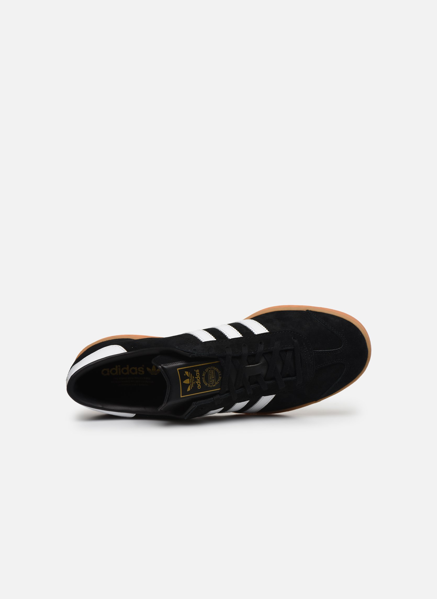 Sneakers Adidas Originals Hamburg Zwart links