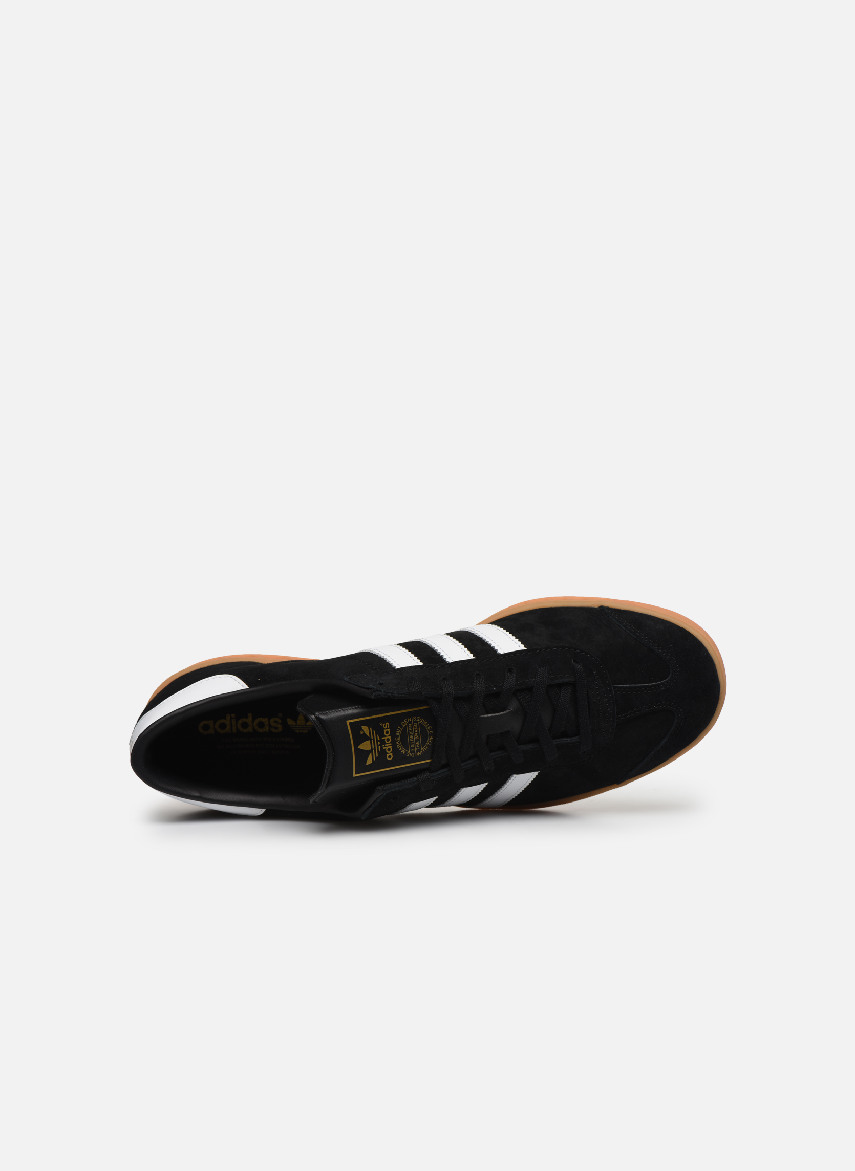 Trainers Adidas Originals Hamburg Black view from the left
