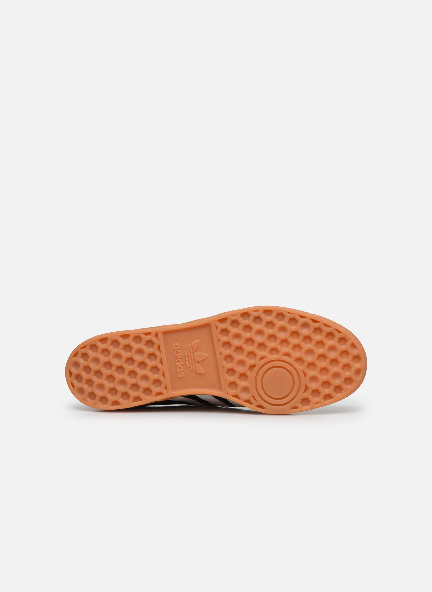 Sneaker Adidas Originals Hamburg schwarz ansicht von oben