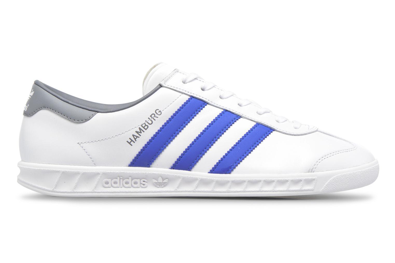Trainers Adidas Originals Hamburg White back view