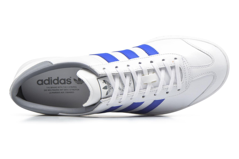 Sneaker Adidas Originals Hamburg weiß ansicht von links