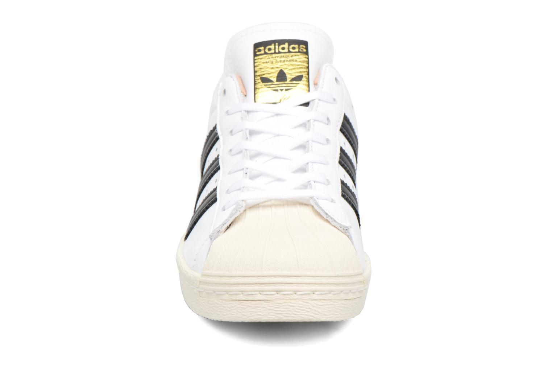 Trainers Adidas Originals Superstar 80S W White model view