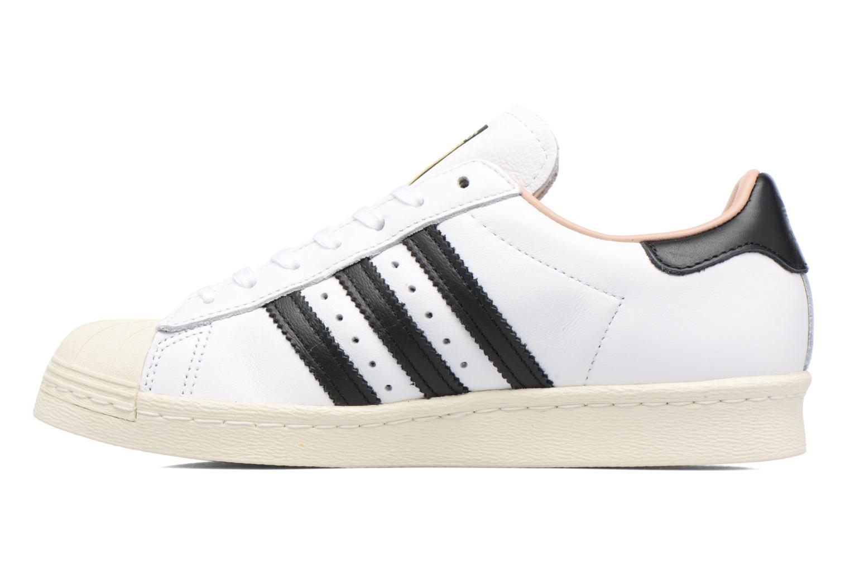 Sneaker Adidas Originals Superstar 80S W weiß ansicht von vorne