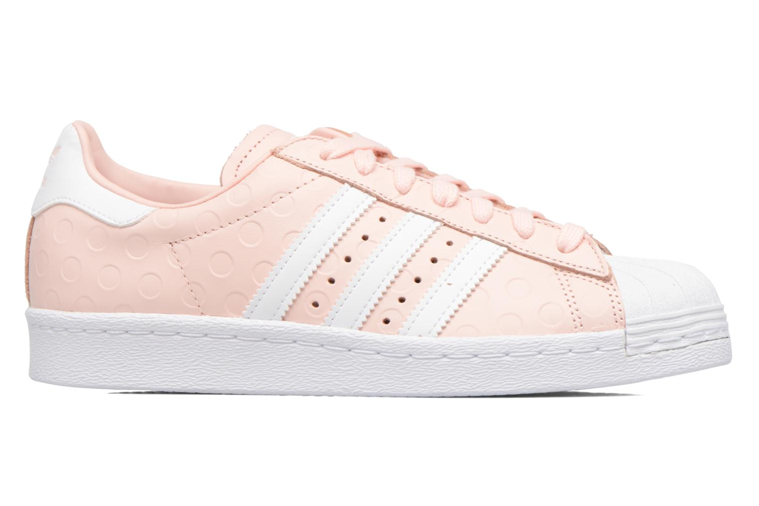 Sneakers Adidas Originals Superstar 80S W Roze achterkant