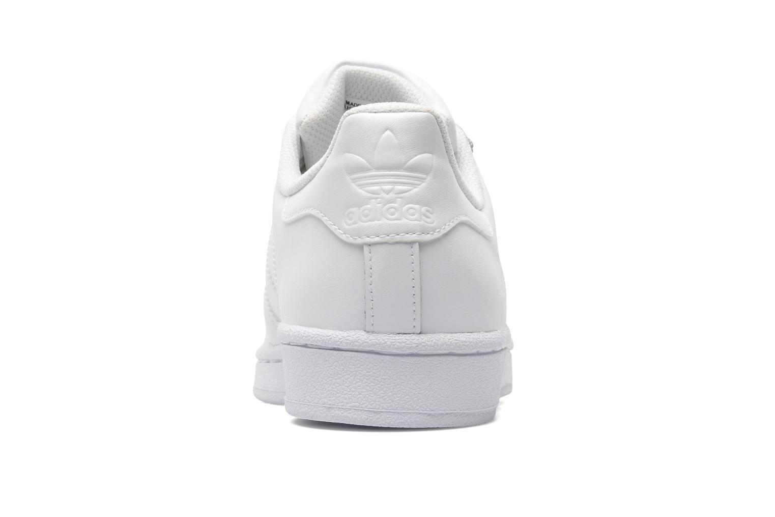 Baskets Adidas Originals Superstar Foundation Blanc vue droite