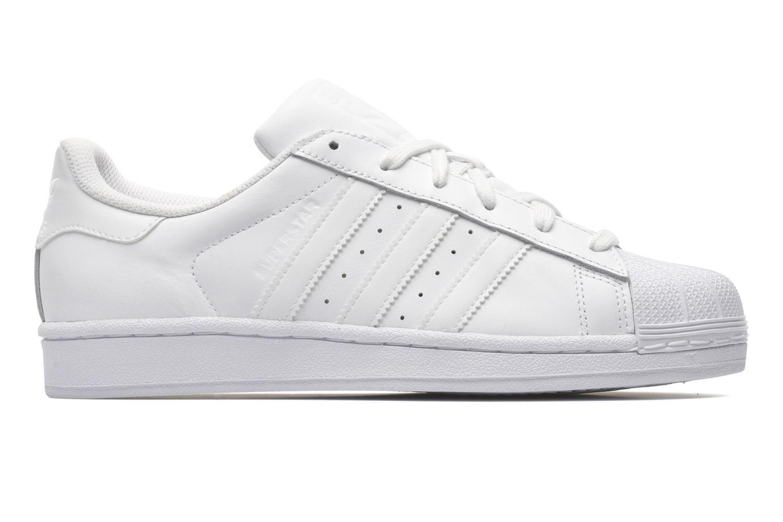Sneakers Adidas Originals Superstar Foundation Hvid se bagfra