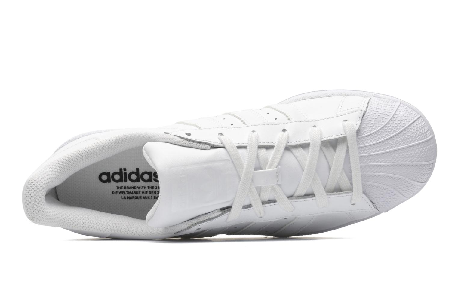 Sneakers Adidas Originals Superstar Foundation Hvid se fra venstre