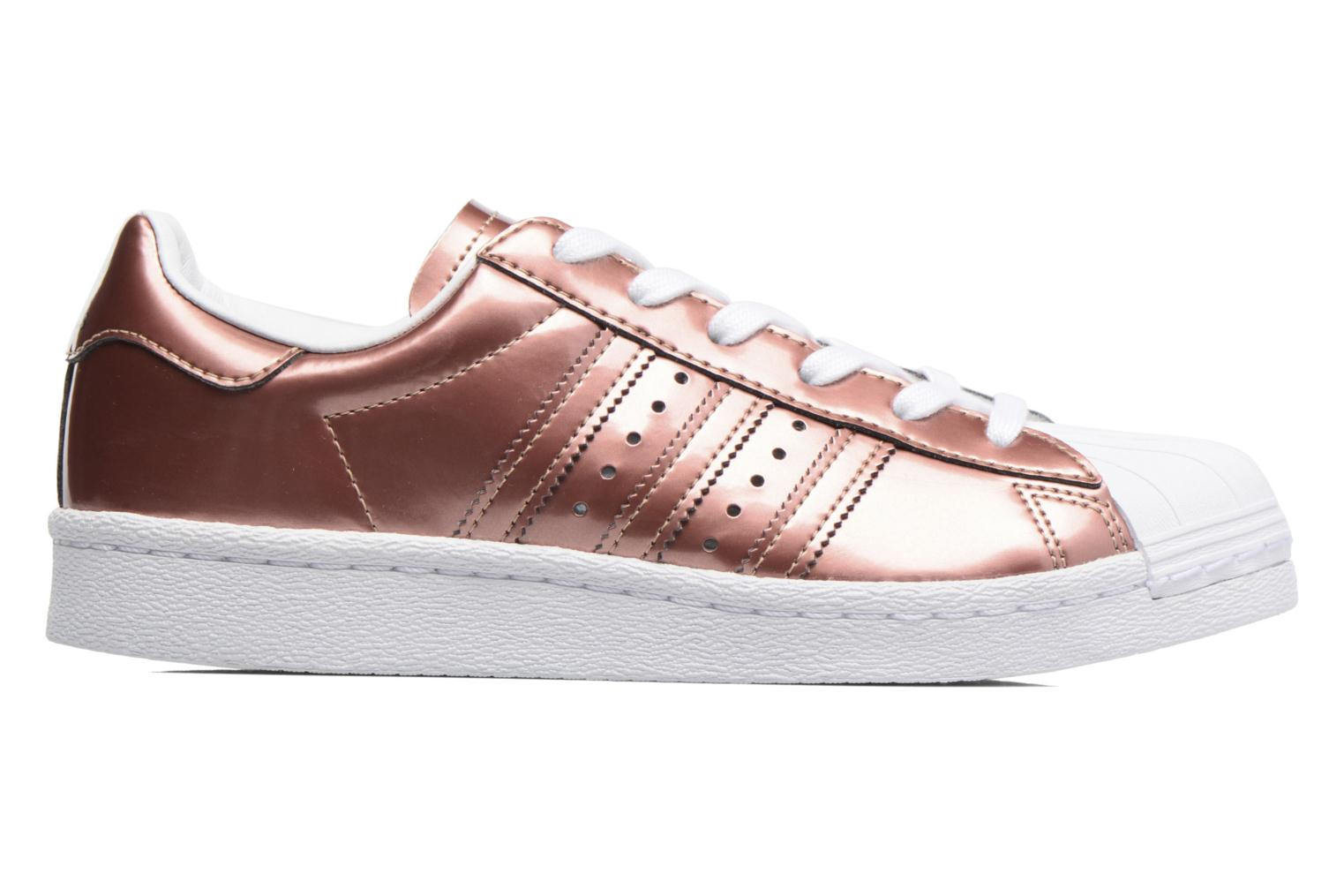 Trainers Adidas Originals Superstar W Bronze and Gold back view